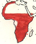 Black-crowned Tchagra map