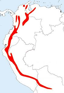 Great Thrush map