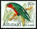 Cl: Stephen's Lorikeet (Vini stepheni)(Out of range)  SG 346 (1981) 300