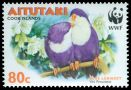Cl: Blue Lorikeet (Vini peruviana)(Endemic or near-endemic)  SG 717 (2002) 110