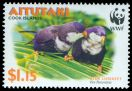 Cl: Blue Lorikeet (Vini peruviana)(Endemic or near-endemic)  SG 719 (2002) 140