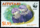 Cl: Blue Lorikeet (Vini peruviana)(Endemic or near-endemic)  SG 720 (2002) 190