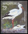 Cl: White Stork (Ciconia ciconia) <<Lejleku>> (Repeat for this country)  SG 2974a (2003)  [2/21]