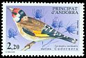 Cl: European Goldfinch (Carduelis carduelis) <<Cadernera>>  SG 369 (1985) 250