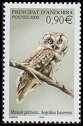Andorra (French Post) <<Mussol pirinenc>> SG 651 (2005)