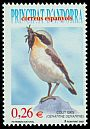 Cl: Northern Wheatear (Oenanthe oenanthe) <<Colit gris>>  SG 315 (2003) 180