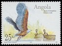 Cl: African Fish-Eagle (Haliaeetus vocifer) <<Aguia gritadeira>> (Repeat for this country)  SG 1688 (2003) 250 [2/18]