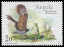 Cl: Martial Eagle (Polemaetus bellicosus) <<Aguia marcial>> (Repeat for this country)  SG 1687 (2003) 200 [2/18]