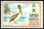 Cl: Brown Pelican (Pelecanus occidentalis) SG 144 (1972) 1700