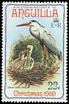 Cl: Great Blue Heron (Ardea herodias) SG 417 (1980) 100