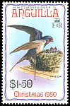 Cl: Barn Swallow (Hirundo rustica) SG 418 (1980) 200