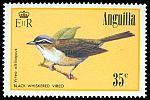 Cl: Black-whiskered Vireo (Vireo altiloquus) SG 665 (1985) 750