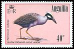 Cl: Yellow-crowned Night-Heron (Nyctanassa violacea)(Repeat for this country)  SG 666 (1985) 200