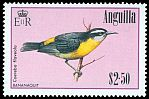 Cl: Bananaquit (Coereba flaveola)(Repeat for this country)  SG 673 (1985) 600