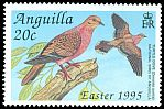Cl: Zenaida Dove (Zenaida aurita)(Repeat for this country)  SG 959 (1995) 65
