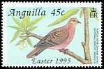 Cl: Zenaida Dove (Zenaida aurita)(Repeat for this country)  SG 960 (1995) 85