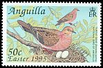 Cl: Zenaida Dove (Zenaida aurita)(Repeat for this country)  SG 961 (1995) 90