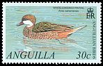 Cl: White-cheeked Pintail (Anas bahamensis) SG 1099 (2001) 100