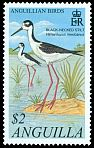 Cl: Black-necked Stilt (Himantopus mexicanus)(Repeat for this country)  SG 1102 (2001) 250