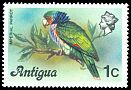 Cl: Imperial Parrot (Amazona imperialis)(Out of range)  SG 470 (1976) 40