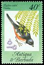 Cl: Eastern Towhee (Pipilo erythrophthalmus)(Out of range and no other stamp)  SG 869 (1984) 125