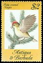 Cl: Ruby-crowned Kinglet (Regulus calendula)(Out of range and no other stamp)  SG 872 (1984) 200