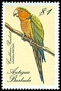 Cl: Brown-throated Parakeet (Aratinga pertinax) SG 1159 (1988) 140