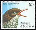 Cl: Pearly-eyed Thrasher (Margarops fuscatus) SG 1448 (1990) 55
