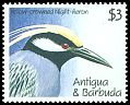 Cl: Yellow-crowned Night-Heron (Nyctanassa violacea) SG 1454 (1990) 250
