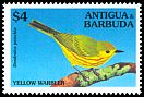 Cl: Yellow Warbler (Dendroica petechia) SG 2056 (1994) 275