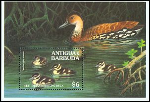 Cl: West Indian Whistling-Duck (Dendrocygna arborea) SG 2056b (1994) 400