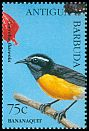 Cl: Bananaquit (Coereba flaveola)(Repeat for this country)  SG 2142 (1995) 110