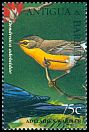 Cl: Barbuda Warbler (Dendroica subita)(Endemic or near-endemic)  SG 2151 (1995) 110