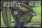 Cl: St. Vincent Parrot (Amazona guildingii)(Out of range)  SG 2987 (2000) 75