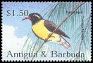 Cl: Bananaquit (Coereba flaveola)(Repeat for this country)  SG 3693 (2002) 175