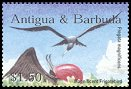 Cl: Magnificent Frigatebird (Fregata magnificens)(Repeat for this country)  SG 3691 (2002) 175