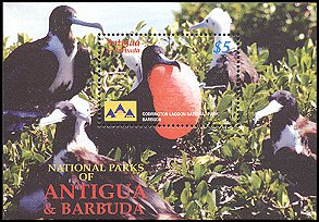 Cl: Magnificent Frigatebird (Fregata magnificens)(Repeat for this country)  SG 3951a (2005) 500 [5/15]