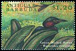 Cl: Green Heron (Butorides virescens)(Repeat for this country)  SG 2985 (2000) 75