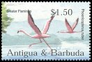 Cl: Caribbean Flamingo (Phoenicopterus ruber)(Repeat for this country)  SG 3695 (2002) 175