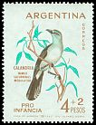 Cl: Chalk-browed Mockingbird (Mimus saturninus) <<Calandria>>  SG 1076 (1962) 200