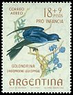 Cl: Chilean Swallow (Tachycineta meyeni) <<Golondrina>>  SG 1125 (1964) 325