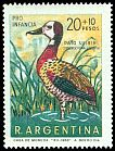Cl: White-faced Whistling-Duck (Dendrocygna viduata) <<Pato suiriri>>  SG 1264 (1969) 250