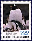 Cl: Gentoo Penguin (Pygoscelis papua)(Repeat for this country) (I do not have this stamp)  SG 1687d (1980) 100 [8/12]