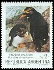 Cl: Macaroni Penguin (Eudyptes chrysolophus) <<Pinguino macaroni>> (Out of range)  SG 1858d (1983) 65