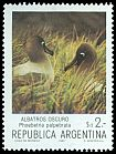 Cl: Light-mantled Albatross (Phoebetria palpebrata) <<Albatros oscuro>> (Out of range)  SG 1858i (1983) 65