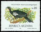 Cl: Black-fronted Piping-Guan (Pipile jacutinga) <<Yacutinga>>  SG 1884 (1984) 160