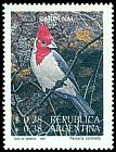 Cl: Red-crested Cardinal (Paroaria coronata) <<Cardenal>> (Repeat for this country)  SG 2343 (1993) 275