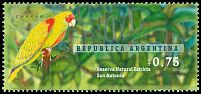 Cl: Red-spectacled Parrot (Amazona pretrei) <<Charao>>  SG 2490 (1996) 275