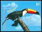 Cl: Toco Toucan (Ramphastos toco) <<Tuc&aacute;n grande>> (Repeat for this country)  new (2015)  [10/5]
