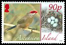 Cl: Common Waxbill (Estrilda astrild)(Repeat for this country) (I do not have this stamp)  SG 995 (2008) 275 [8/16]